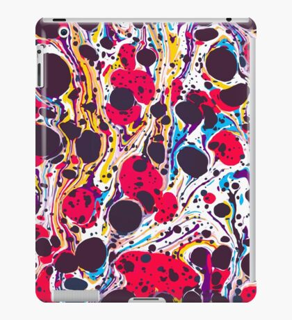 Psychedelic Vintage Marbled Paper Pepe Psyche iPad Case/Skin