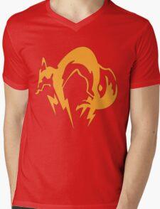 Metal Gear Fox Unit Art Mens V-Neck T-Shirt