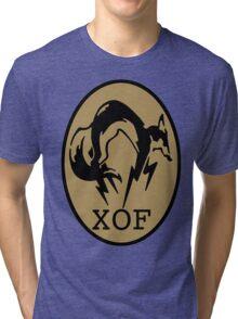 Metal Gear XOF Unit Art Tri-blend T-Shirt