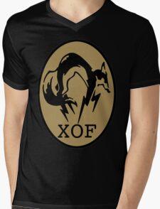 Metal Gear XOF Unit Art Mens V-Neck T-Shirt