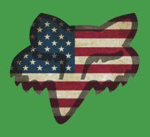 Fox Racing American Flag One Piece - Short Sleeve