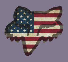 Fox Racing American Flag Kids Tee