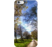 The Summer Farm Track iPhone Case/Skin