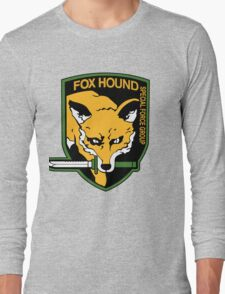 FOX HOUND Art Long Sleeve T-Shirt