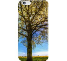 The Summer Farm Tree iPhone Case/Skin