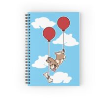 Fly and Fetch Corgi Spiral Notebook