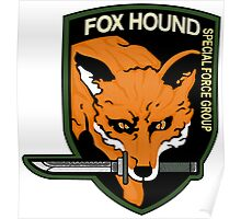 FOX HOUND Art Poster