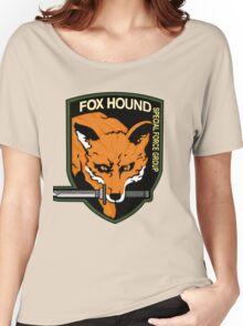 FOX HOUND Art Women's Relaxed Fit T-Shirt