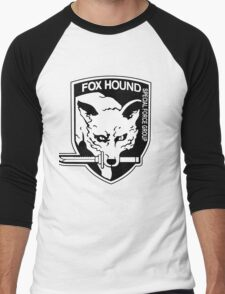 FOX HOUND Art Men's Baseball ¾ T-Shirt