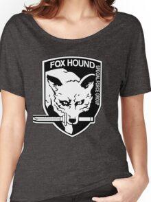 FOX HOUND Art Women's Relaxed Fit T-Shirt