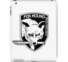 FOX HOUND Art iPad Case/Skin