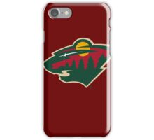 minnesota wild iPhone Case/Skin