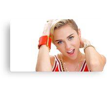 Miley Cyrus Canvas Print
