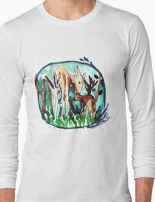 In the forest of dream Long Sleeve T-Shirt