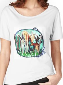 In the forest of dream Women's Relaxed Fit T-Shirt