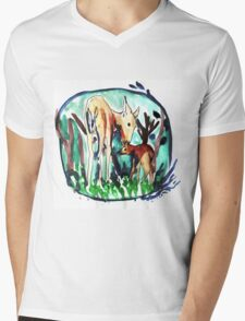 In the forest of dream Mens V-Neck T-Shirt