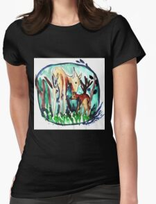 In the forest of dream Womens Fitted T-Shirt