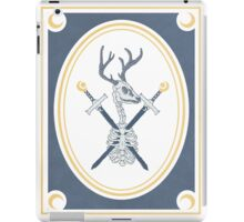 two of swords iPad Case/Skin
