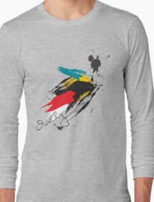 Crazy Brush Long Sleeve T-Shirt