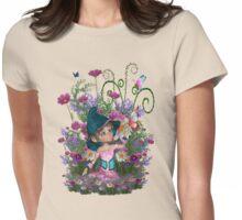 Fairy garden Womens Fitted T-Shirt