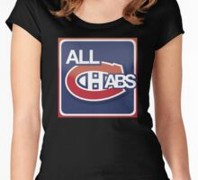 montreal canadiens Women's Fitted Scoop T-Shirt