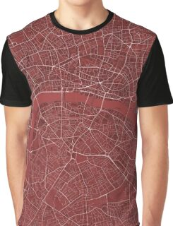 LONDON MAP Graphic T-Shirt