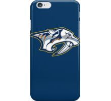 nashville predators iPhone Case/Skin