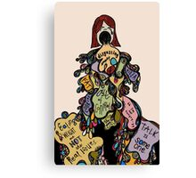 Inside the Disorder Canvas Print