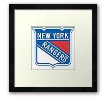 new york rangers Framed Print
