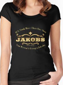 Jakobs Weapons Women's Fitted Scoop T-Shirt