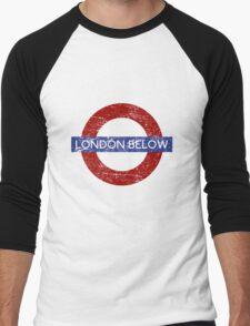 London Below Men's Baseball ¾ T-Shirt