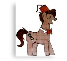 Matt Smith MLP Canvas Print