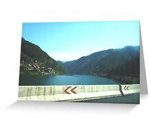 View from car window - China Greeting Card