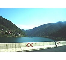 View from car window - China Photographic Print