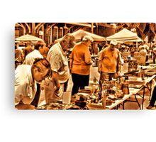 """""""The 8th Annual Clinch River Spring Antique Fair """"... prints and products Canvas Print"""