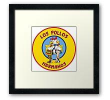 Los Pollos Hermanos logo Framed Print