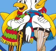 Los Pollos Hermanos logo Sticker