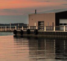 Sandusky Bay Reflections 3 Sticker