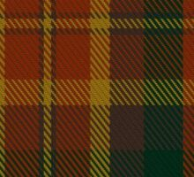 00347 Monaghan County District Tartan Sticker