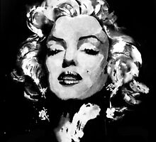 Marilyn Monroe by hazelong