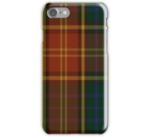 00352 Roscommon County District Tartan  iPhone Case/Skin