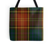 00352 Roscommon County District Tartan  Tote Bag
