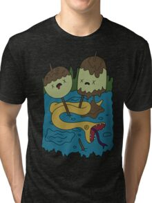 Adventure Time - Rock T-shirt Tri-blend T-Shirt