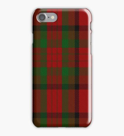 00356 Tipperary County District Tartan  iPhone Case/Skin