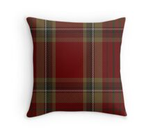 00358 Tyrone County District Tartan  Throw Pillow