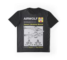Haynes Manual - Airwolf - T-shirt Graphic T-Shirt