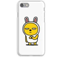 KakaoTalk Friends Muzi & Con (Waiting Patiently) iPhone Case/Skin