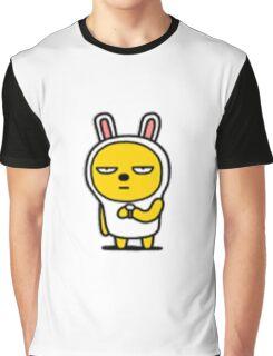 KakaoTalk Friends Muzi & Con (Waiting Patiently) Graphic T-Shirt