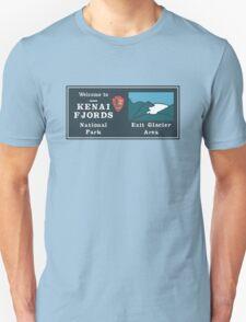 Kenai Fjords National Park Sign, Alaska, USA Unisex T-Shirt