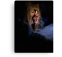 They do tell tales  Canvas Print